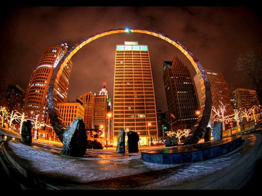 Stargate Detroit: Hart Plaza : Transcending the Gateways to Freedom
