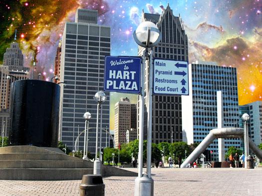 Stargate Detroit: Hart Plaza : Transcending the Gateways to Freedom